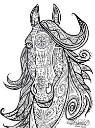 Small Picture 454 best Coloring Pages Horses Unicorns and Zebras images on
