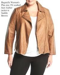 bale faux leather jacket bale plus size washed faux leather jacket in walnut brown bale faux