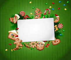 Christmas Background Template Vector Free Download