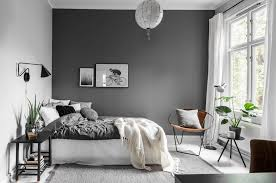 bedroom colors decor. Minimalist Décor Is The Perfect Statement In This Grey Bedroom Ideas Colors Decor
