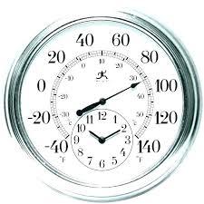 la crosse atomic outdoor clock la technology