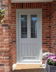 grey front doorVictorian front doors Georgian Regency Edwardian Doors London