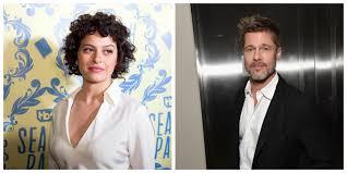 Brad Pitt and Alia Shawkat spotted at ...