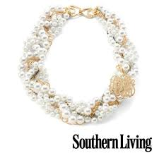 Moon And Lola  Southern Living Glass Pearl NecklaceSouthernliving Com Necklace