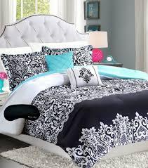 Black Pinch Pleat Comforter Set