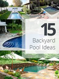 Backyard Designs With Pool And Outdoor Kitchen Gorgeous 48 Amazing Backyard Pool Ideas Home Design Lover