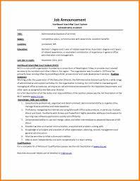 Job Description Template Word Description Template 18