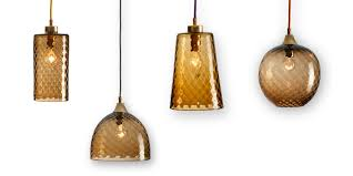sargasso rothschild bickers glass pendant lights set of four