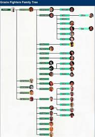 Gracie Fighters Family Tree Artes Marciais E Marcial