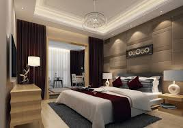 Master Bedroom Modern Two Story Modern Minimalist Master Bedroom With Large Balcony