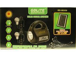 outdoor indoor solar digital lighting kit