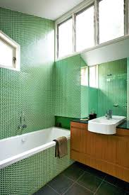 bathroom tiles green best bathrooms with timber images on bathroom ideas green  penny round bathroom tiles