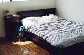 typical bed heights platform beds