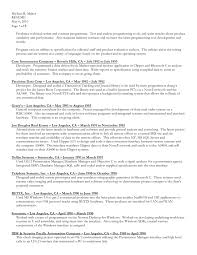 Statistical Programmer Sample Resume Gorgeous Download Resume In MS Word Formatdoc