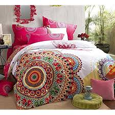bright colored bedding for adults. Delighful Adults FADFAY Home TextileBoho Style Bedding SetBoho Duvet Cover SetBohemian  SetQueen4Pcs In Bright Colored For Adults G