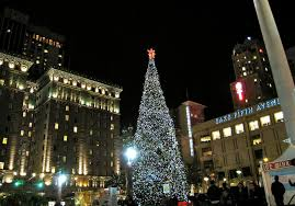 Get In The Spirit Of The Season With These Events In San Francisco Christmas Tree In San Francisco