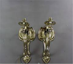 Arts And Crafts Wall Lights Pair Of Arts And Crafts Wall Lights In Brass C1900
