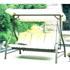 3 person patio swing with canopy porch parts canopies outdoor swings lounger chair and living accents steel replacement