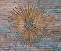 wall art ideas design sun higher designs outdoor metal large discover right color schemes brown leather
