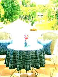 outdoor tablecloth with zipper round