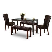 black friday wood dark espresso kitchen dining table set 2 espresso kitchen table sets