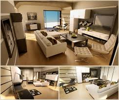 ... Bachelor Pad Art for Living Room with Tuxedo Sofa and Modern Interior  Furniture ...
