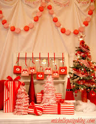 How To Decorate A Cane michelle paige blogs Red and White Candy Cane Party Decorating 28