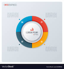 Modern Chart Design Modern Style Circle Donut Chart Infographic