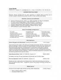 Lvn Nursing Resume Examples Cozy Inspiration Lpn Resume Template 24 Lvn Sample No Experience 11