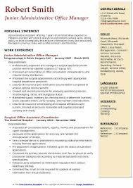 Sample Office Manager Resumes Administrative Office Manager Resume Samples Qwikresume