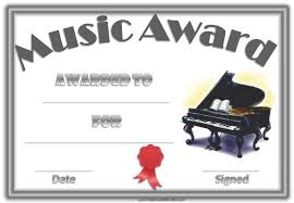 Piano Certificate Template Free Editable Music Certificate Template Free And Customizable Piano
