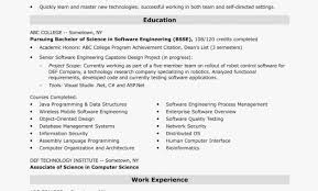 Professional Resume For Software Engineer Fresher Archives