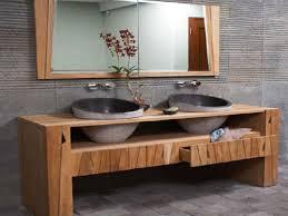 Bathroom Vanities Magnificent Natural Wood Bathroom Vanity Solid