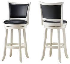 contemporary bar stools. Stylish White Swivel Bar Stool Black Counter With Wood Contemporary Stools