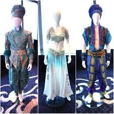 Costume Designer Aladdin On Broadway Costumes On Display Costume Designer