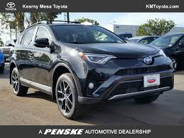 2018 New Toyota RAV4 Hybrid SE AWD at Kearny Mesa Toyota Serving ...