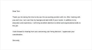 Before Hiring Decision Letter After Interview
