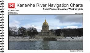 Monongahela River Depth Chart Kanawha River Navigation Charts Point Pleasant To Alloy West Virginia 2016
