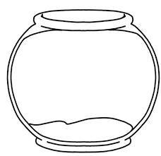 fish bowl clip art black and white. Brilliant White Fish Bowl Clipart Black And White Clip Art R