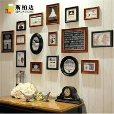 diy photo collage letters wall decor picture collage wall decor pieces set wooden photo frame on