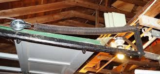 garage door extension springsReplacing old garage door extension springs  stretch length