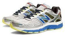new balance shoes blue. new balance mens 860v4 stability running shoes silver with blue \u0026 yellow