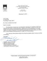 florida department of revenue money extortion a cover letter cover letter florida department of revenue money extortion achild support letter
