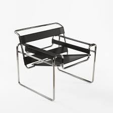 Mid-Century Modern Reproduction Wasilly B3 Chair Inspired by Marcel Breuer  ...