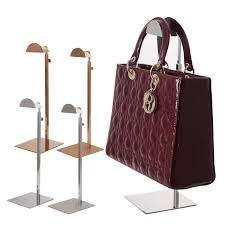 Handbag Display Stands Mesmerizing Metal Handbag Purse Stand Stainless Steel Bag Display Holder