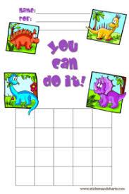Printable Sticker Charts For Preschool Lamasa