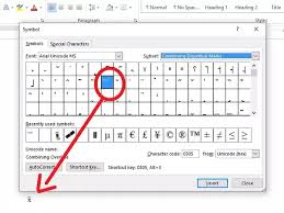 Statistics Symbols Chart How To Insert X Bar Population Mean Into A Word Document