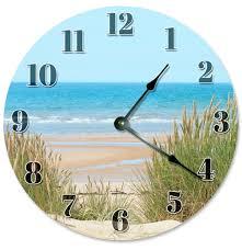 10 5 beach flip flops clock beach