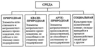 Среда человека и ее элементы как субъекты социально экологического   среде четыре неразрывно взаимосвязанных компонента подсистемы а природную среду б среду порожденную агротехникой так называемую вторую природу