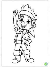 Disegni Da Colorare Jack Il Pirata Fantastic Voglia Di Jake E I
